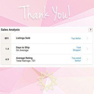 😀 Help me hit 1000 sales! 😀